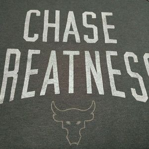 UA x Project Rock Chase Greatness Tee